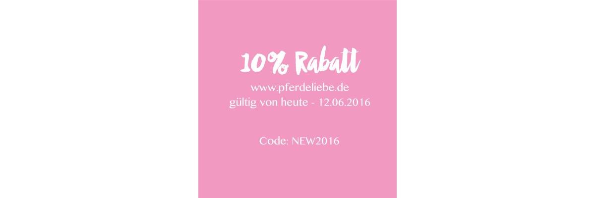 10% Rabatt!  -