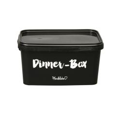 "Eimer ""Dinner-Box"" schwarz"