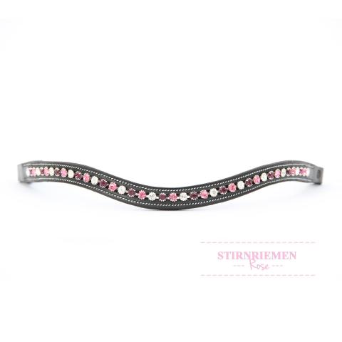 """Trensen-Stirnriemen """"Rose"""""""