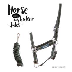 "Stall Halfter plus Baumwollstrick ""Jules"""