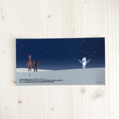 """Karte """"Pegasus! Siehst Du, oder glaubst Du zu..."""