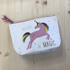 Beauty Bag PINK UNICORN von ppd
