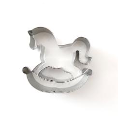 Plätzchen Ausstecher Schaukel-Pferd klein