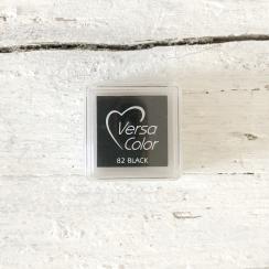 Stempelkissen Versa Color schwarz 2,5 x 2,5 cm